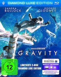 Gravity Diamond Luxe Edition Blu-ray 3D