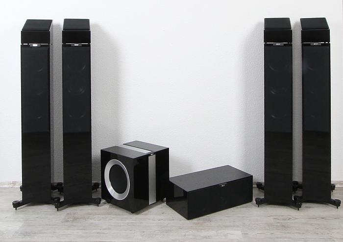 KEF R-Serie 5.1.4 Gruppenbild2