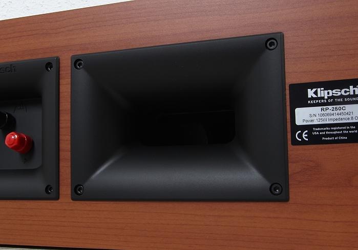 Klipsch Reference Premium RP-250C Bassreflexrohr