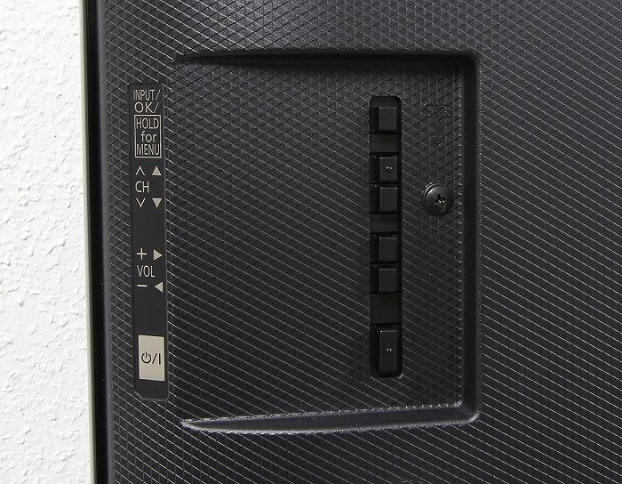 Panasonic TX-49CXW754 Bedienelemente Rueckseite