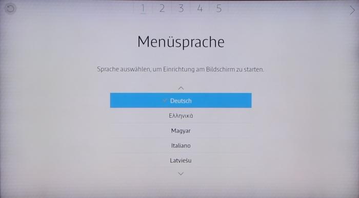 Samsung UE65JS9590 Screenshot 1