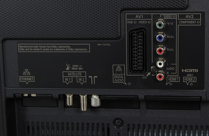Panasonic TX-55CXW754 Anschluesse Rueckseite2