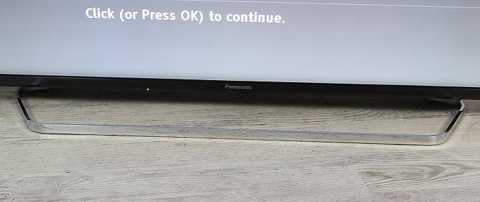 Panasonic TX-55CXW754 Standfuss