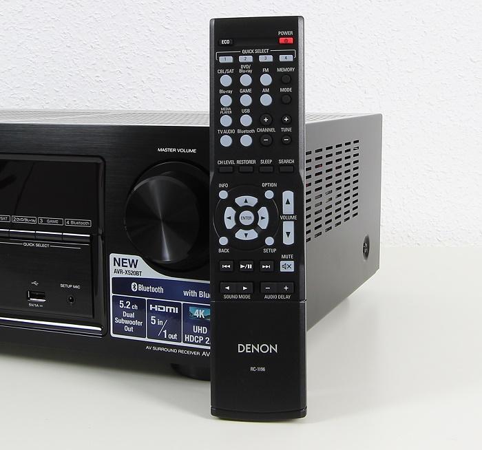 Denon AVR-X520BT Fernbedienung