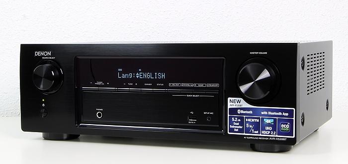 Denon AVR-X520BT Front Seitlich1