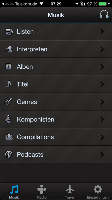 Denon_AH_GC20_App_Musikauswahl_iPhone