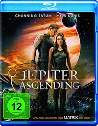 Jupiter Ascending Blu-ray Disc