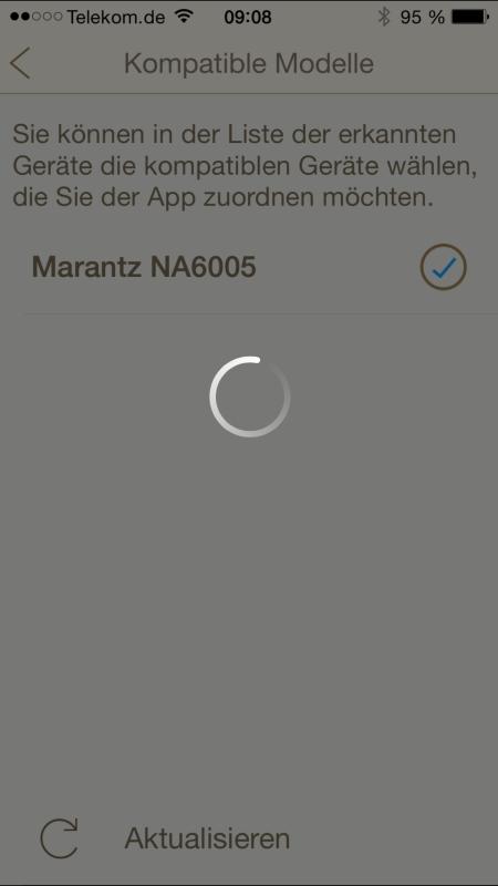Marantz_App_Geraeteerkennung