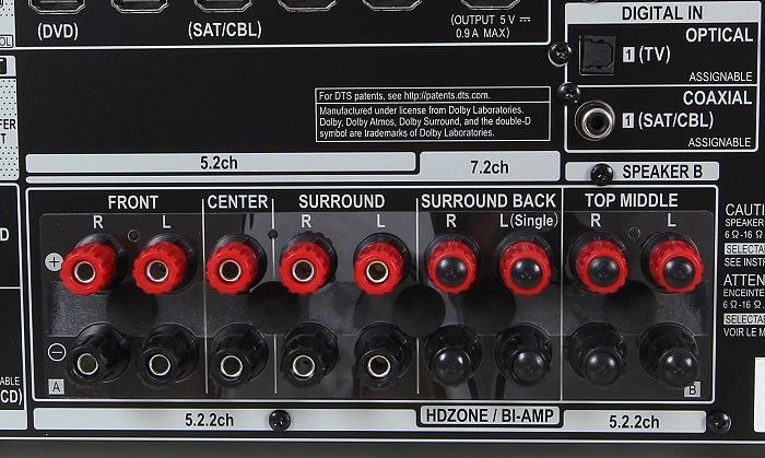 Pioneer VSX-930 Anschluesse Rueckseite1
