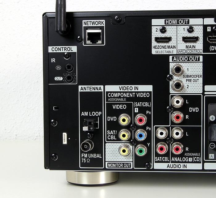 Pioneer VSX-930 Anschluesse Rueckseite2