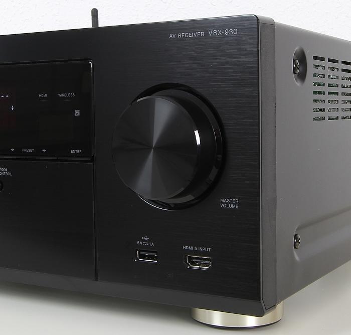 Pioneer VSX-930 Bedienelemente Front2
