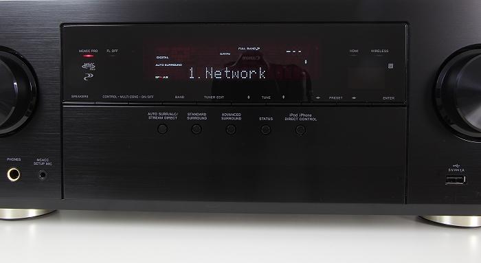 Pioneer VSX-930 Display Bedienelemente