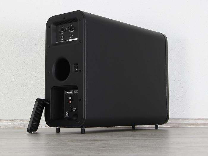 Q-Acoustics 3000 Serie 3070S Rueckseite Seitlich