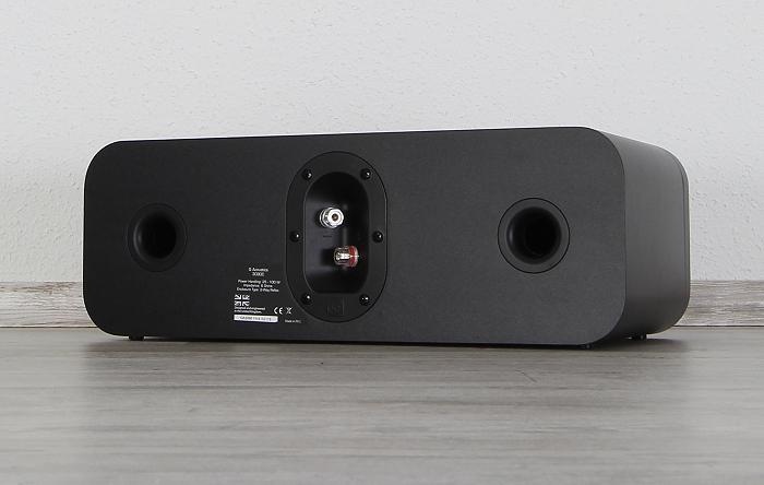 Q-Acoustics 3000 Serie 3090C Rueckseite Seitlich1