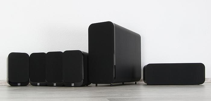 Q-Acoustics 3000 Serie Gruppenbild1