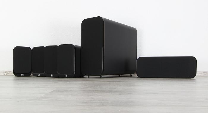 Q-Acoustics 3000 Serie Gruppenbild2