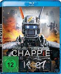 Chappie Blu-ray Disc