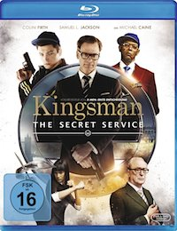 Kingsman - The Secret Service Blu-ray Disc