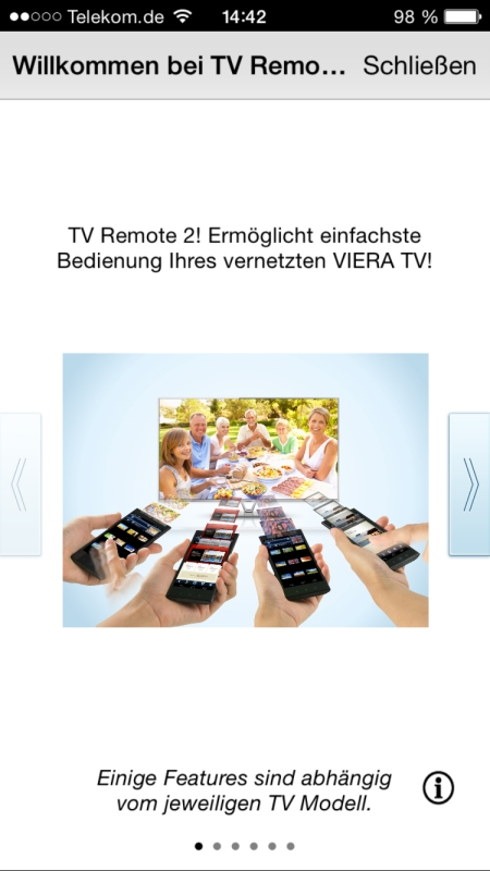 Panasonic TV Remote 2 1