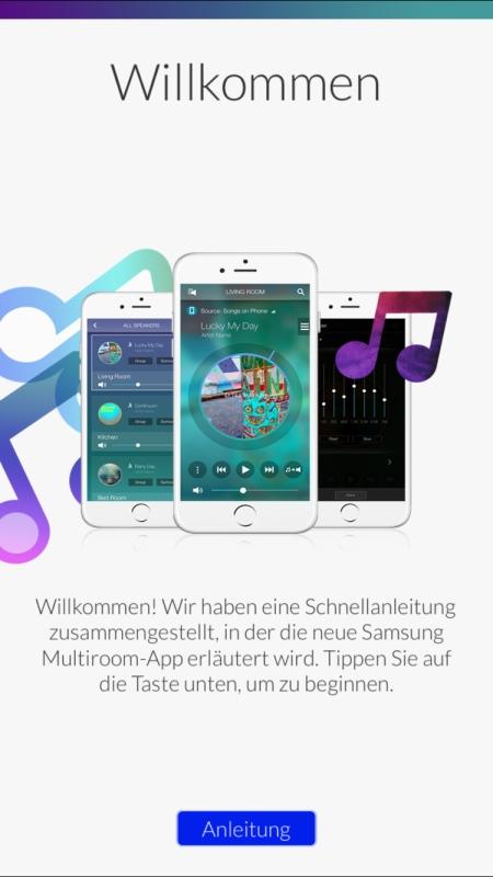 Samsung MultiRoom App 1