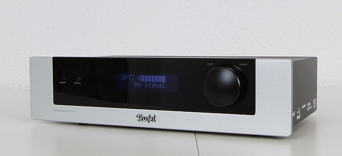 Teufel Ultima 40 Surround Complete Decoderstation 6 Front Seitlich