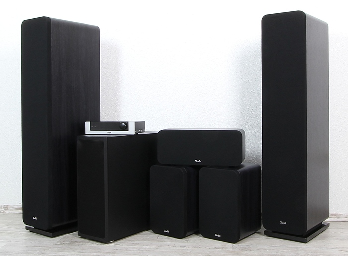 Teufel Ultima 40 Surround Complete Gruppenbild1