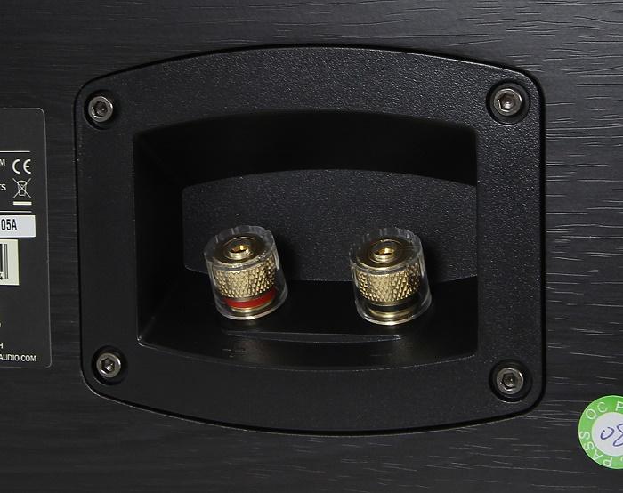 Teufel Ultima 40 Surround Complete UL 40 C Mk2 Anschluesse