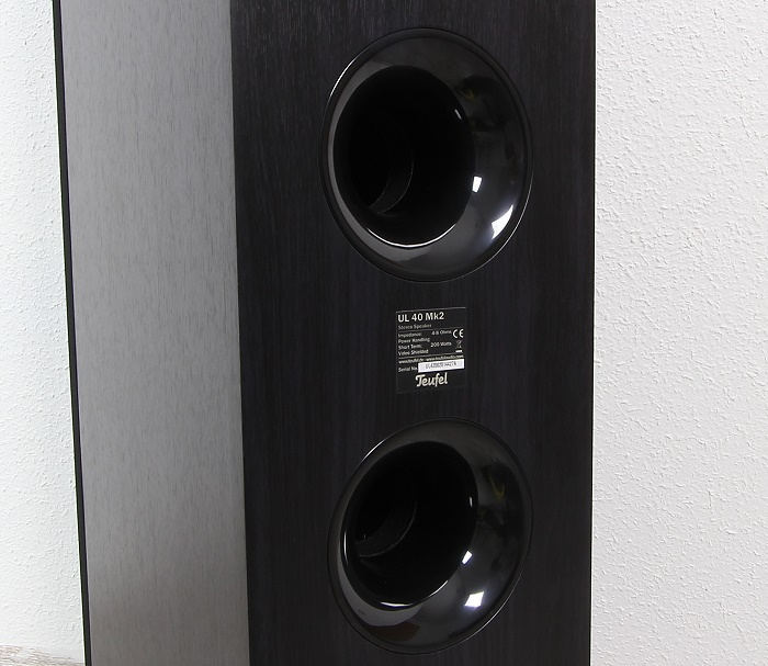 Teufel Ultima 40 Surround Complete UL 40 Mk2 Bassreflexrohre