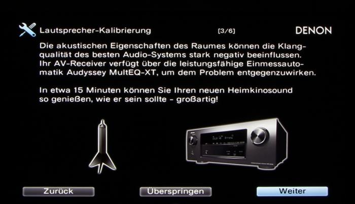 Denon AVR-X3200W Screenshot 10
