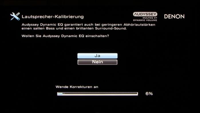 Denon AVR-X3200W Screenshot 17
