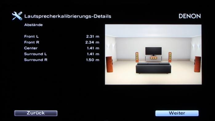 Denon AVR-X3200W Screenshot 20