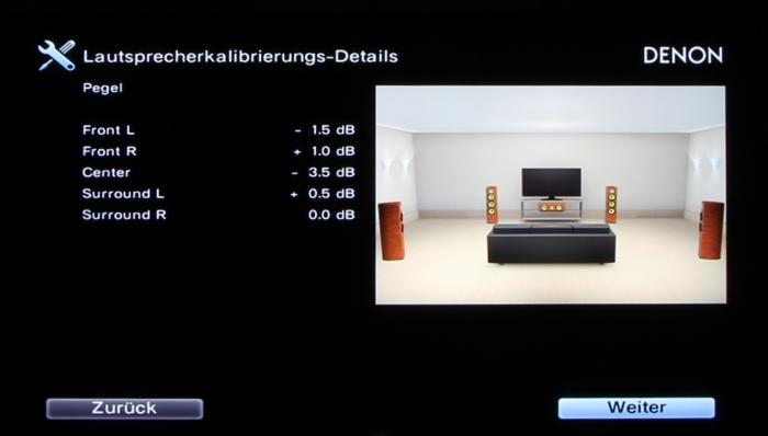 Denon AVR-X3200W Screenshot 21
