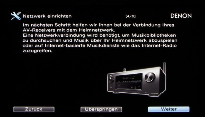 Denon AVR-X3200W Screenshot 23