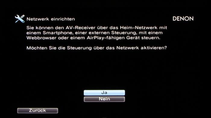 Denon AVR-X3200W Screenshot 25