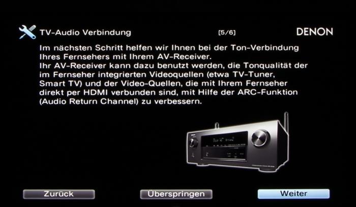 Denon AVR-X3200W Screenshot 26