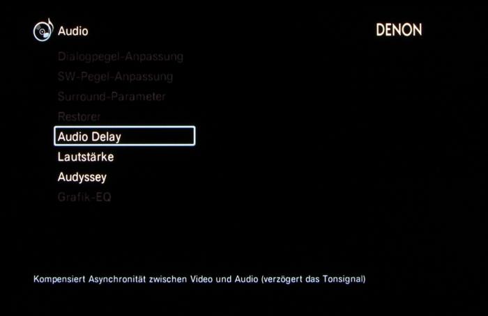 Denon AVR-X3200W Screenshot 29