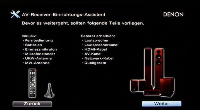 Denon AVR-X3200W Screenshot 3