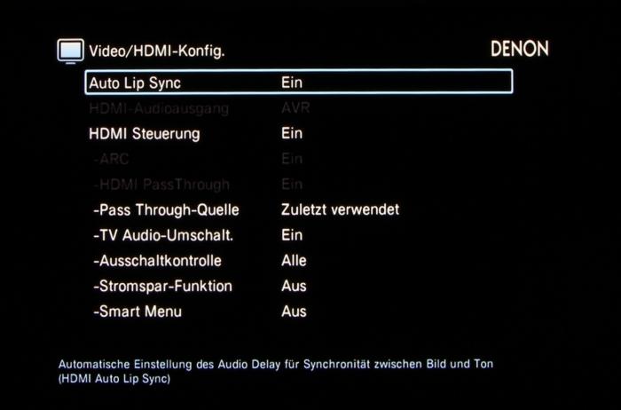 Denon AVR-X3200W Screenshot 32