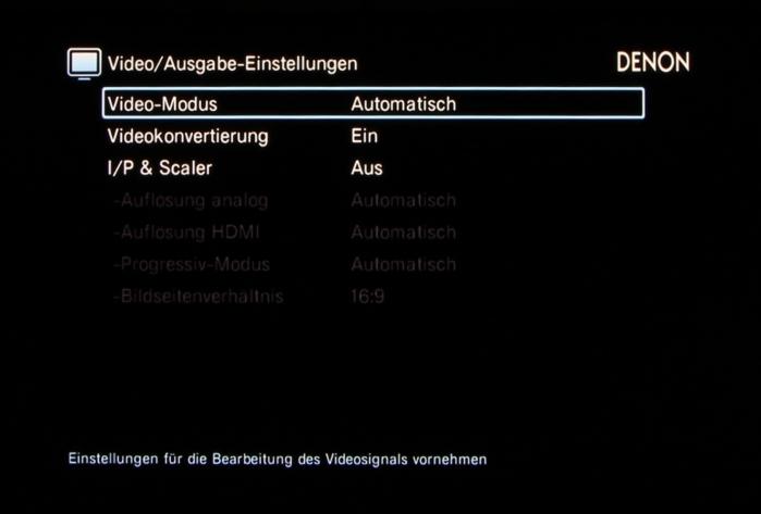 Denon AVR-X3200W Screenshot 33