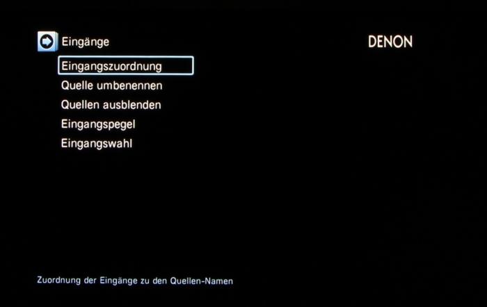 Denon AVR-X3200W Screenshot 34