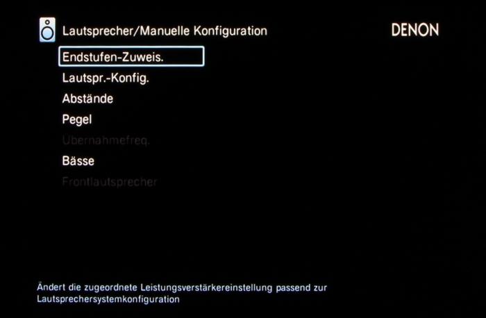 Denon AVR-X3200W Screenshot 35
