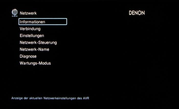 Denon AVR-X3200W Screenshot 36