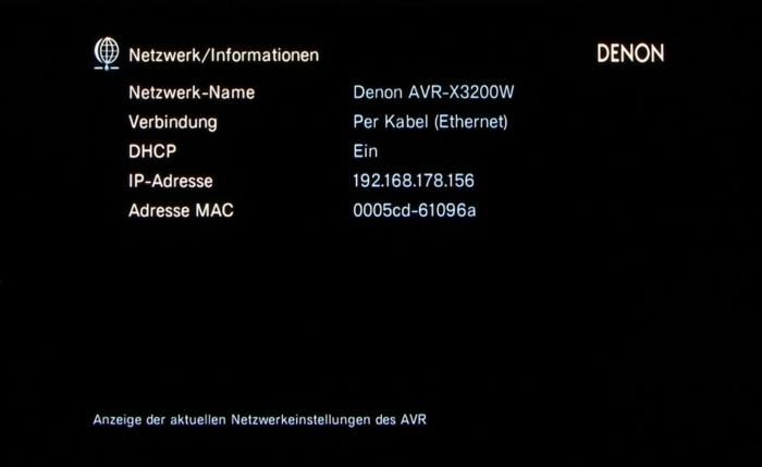 Denon AVR-X3200W Screenshot 37