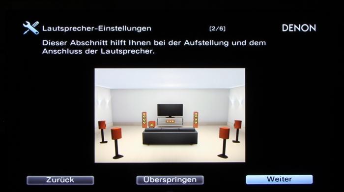 Denon AVR-X3200W Screenshot 4