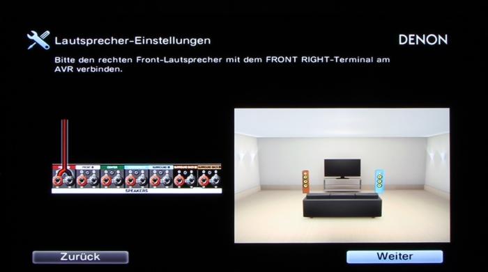 Denon AVR-X3200W Screenshot 6