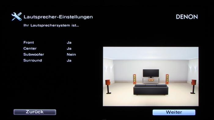 Denon AVR-X3200W Screenshot 7