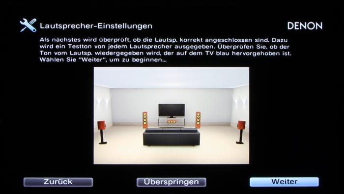 Denon AVR-X3200W Screenshot 8