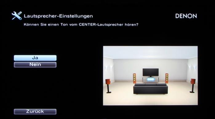 Denon AVR-X3200W Screenshot 9