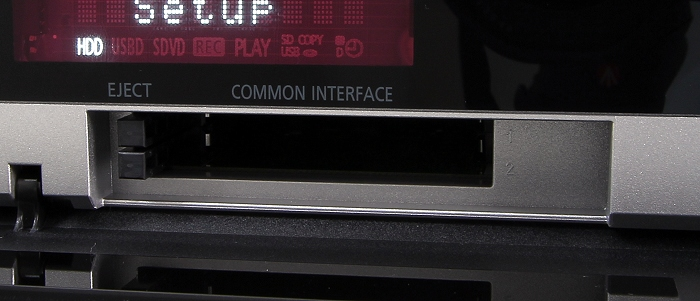 Panasonic DMR-BCT855 Common Interface