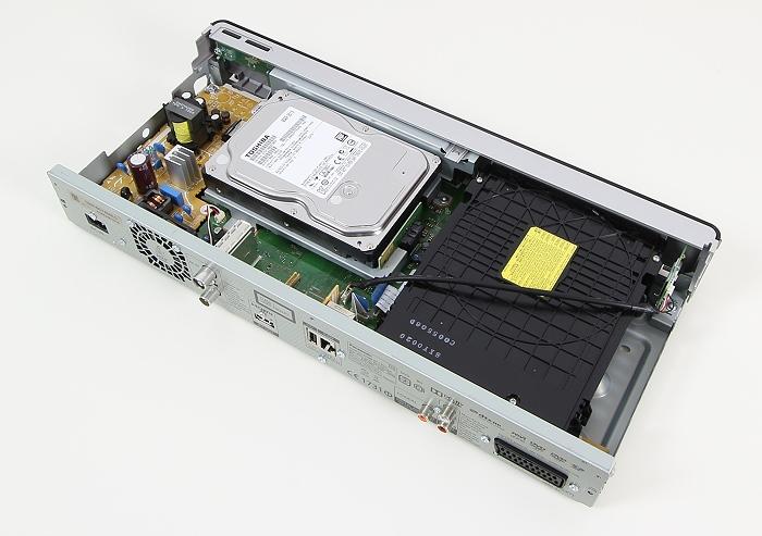 Panasonic DMR-BCT855 Innenleben Gesamt